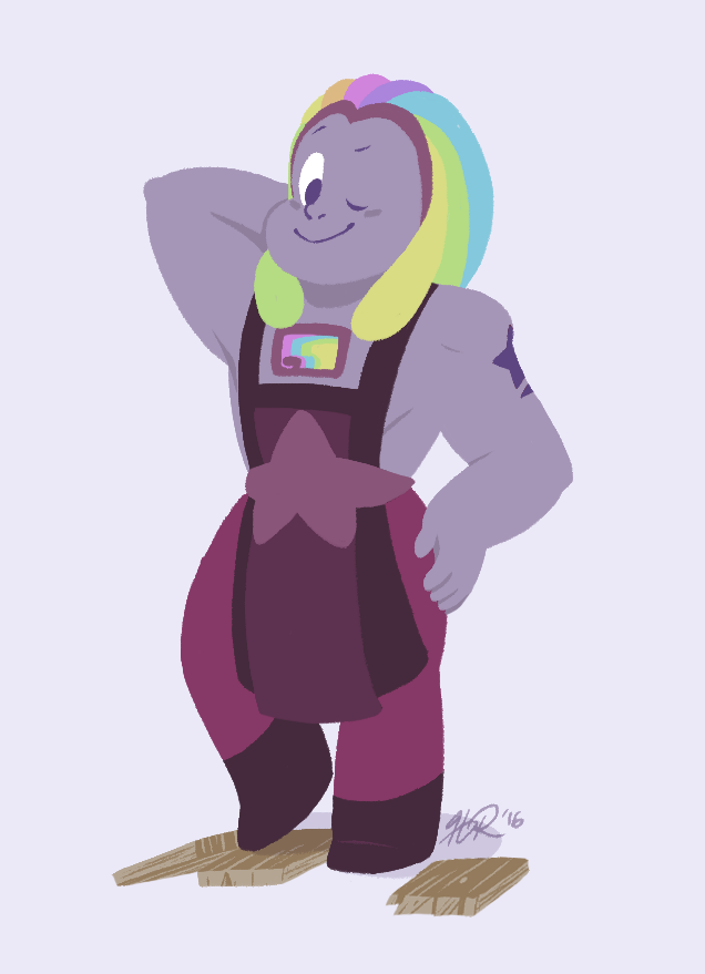(Steven Universe Spoiler) A New Mom by hevromero