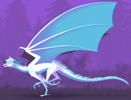 Art Fight: Minty the Frost Dragon