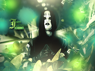 Joey Jordison, Slipknot by Karmatico