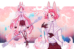 Strawberry Cat | adopt auction #39 [CLOSED]
