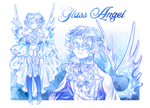 Glass Angel | adopt auction #44 [CLOSED]