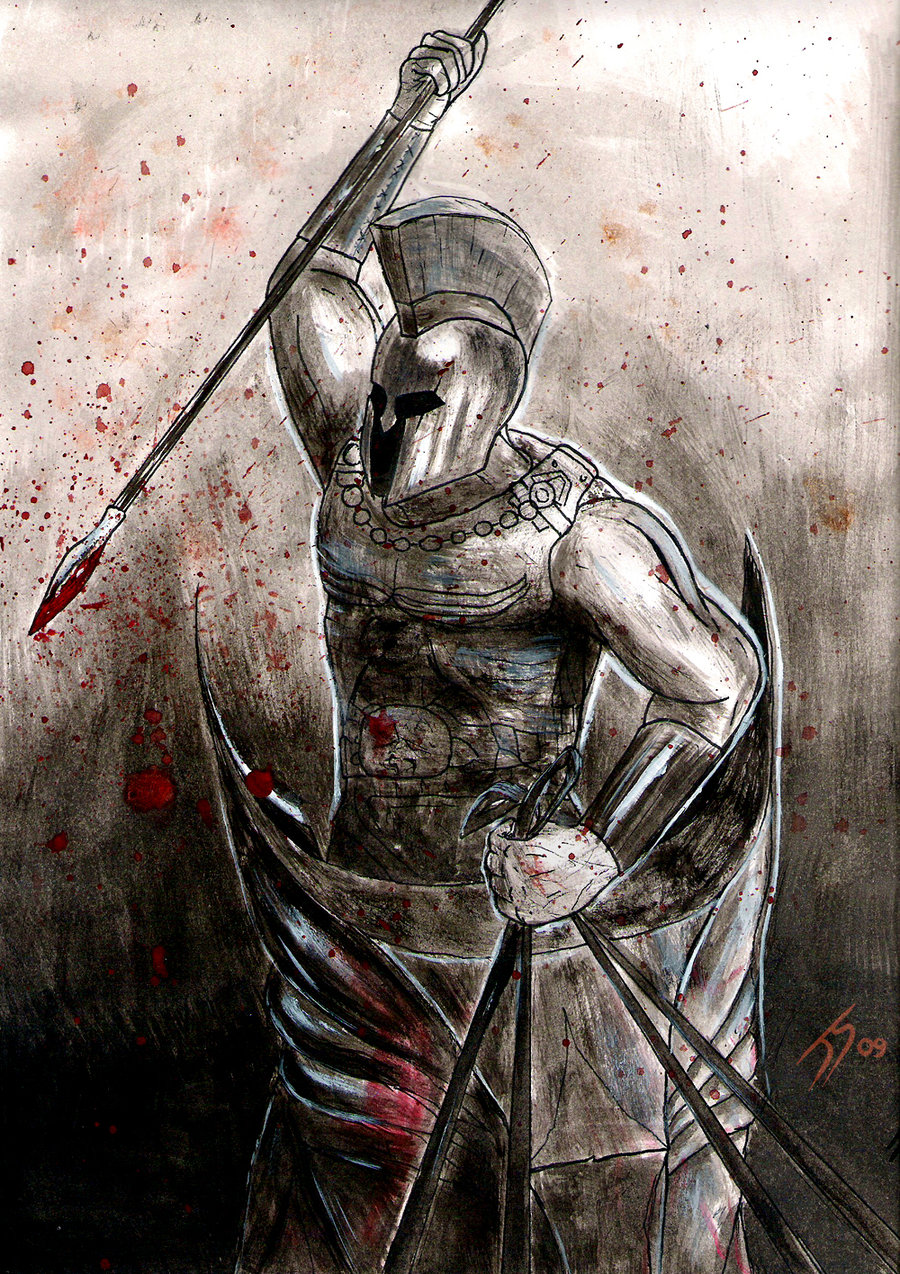 Greek Warrior by Jsohpaul on DeviantArt