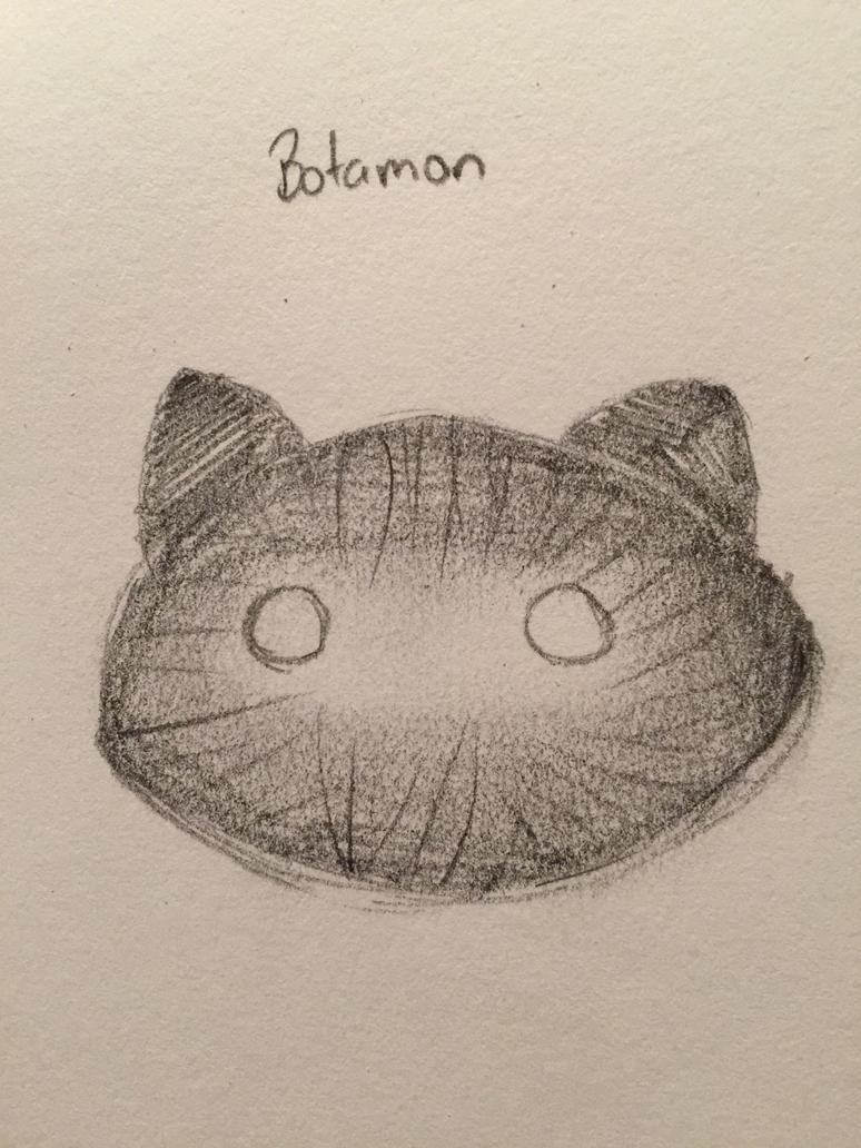 Botamon .:sketch:. by Neko-Chiba