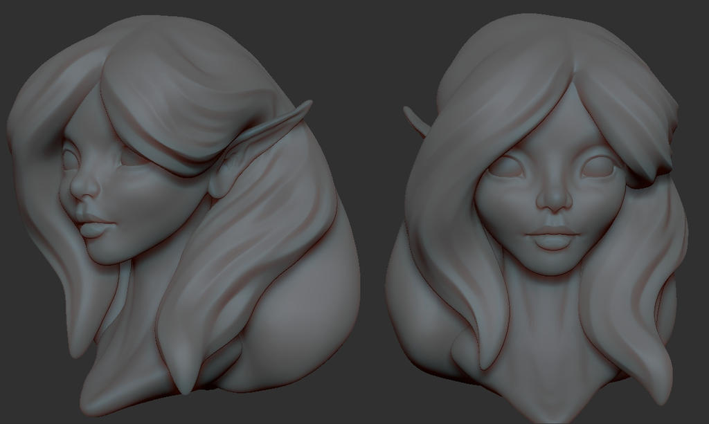 Elf WIP by Rogent
