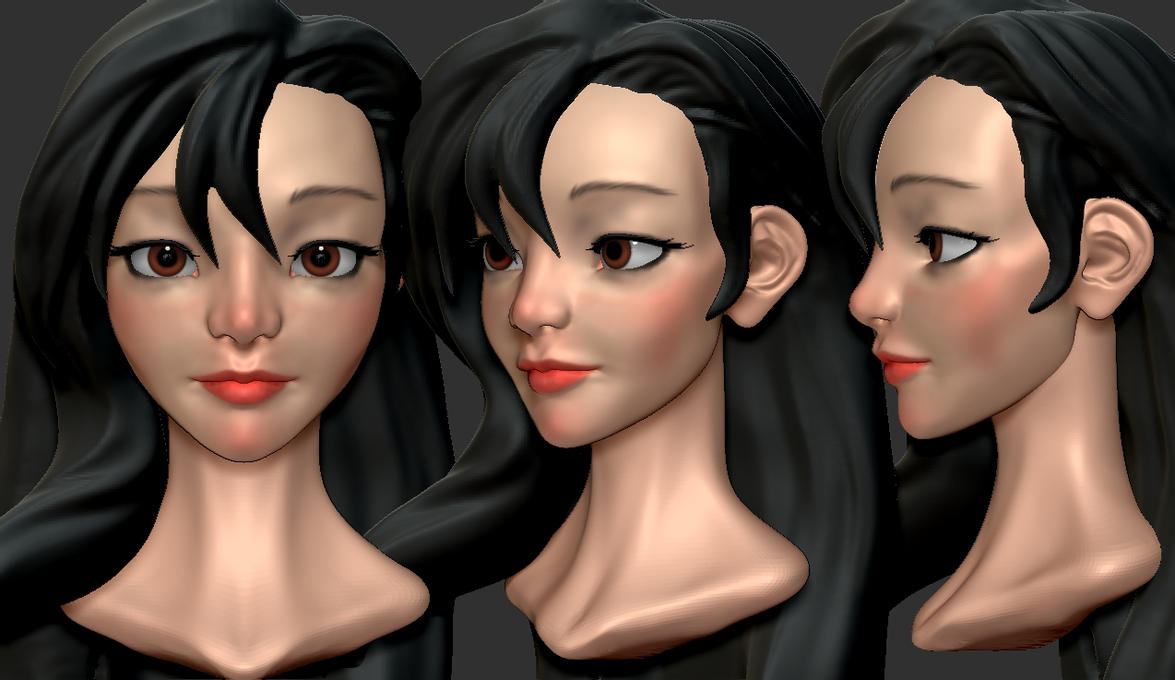 Tifa WIP by Rogent