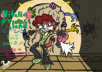 Vitalia Island episode 2 Cover Art by MelvineKadmiss