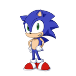 Modern Sonic by TheQuirkyGamer