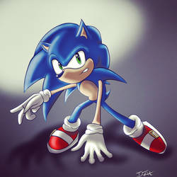 Sonic Doodle by Ifrit-Animations