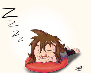 Sleepy Chibi Ifrit Male by Ifrit-Animations