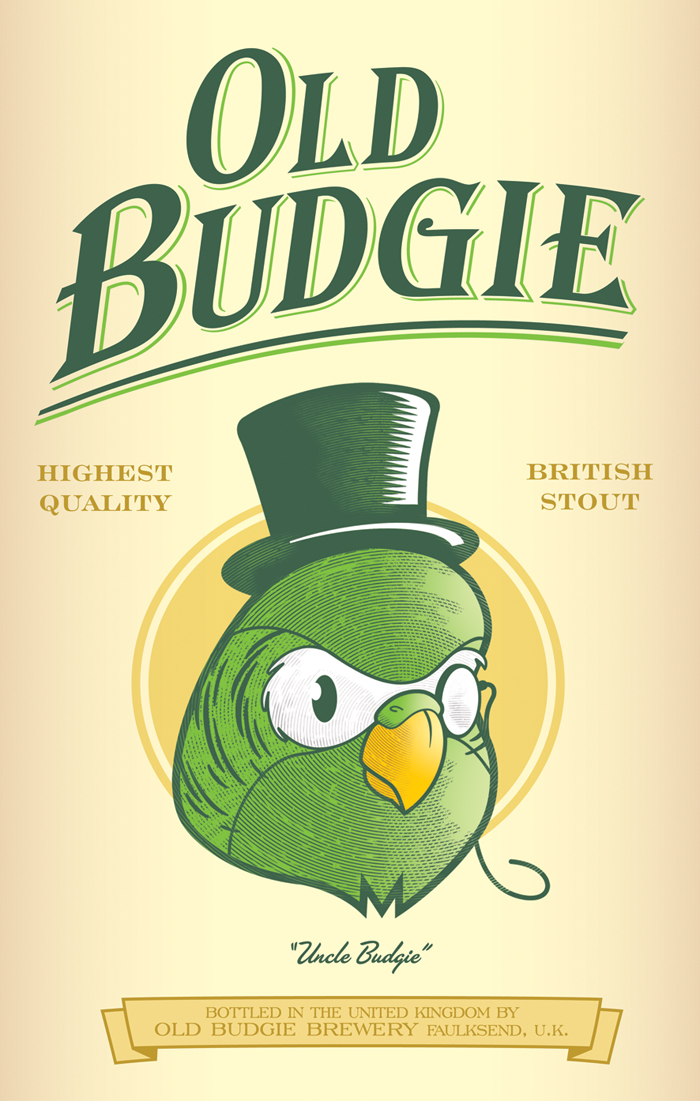Old Budgie British Stout by ballsybalsman