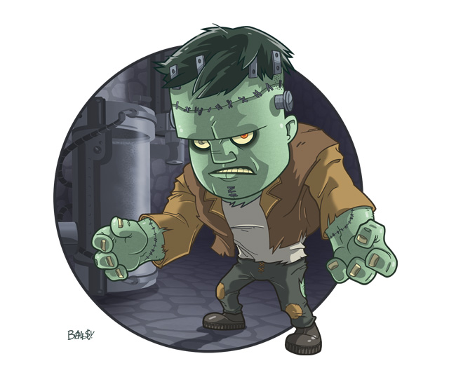 Frankenstein's Monster by ballsybalsman