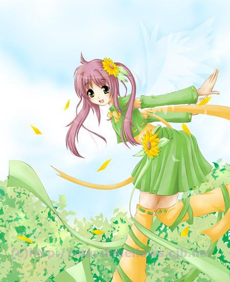 Sunflower Fairy by hikariyuki