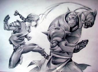 Fullmetal Alchemist by EvanRank