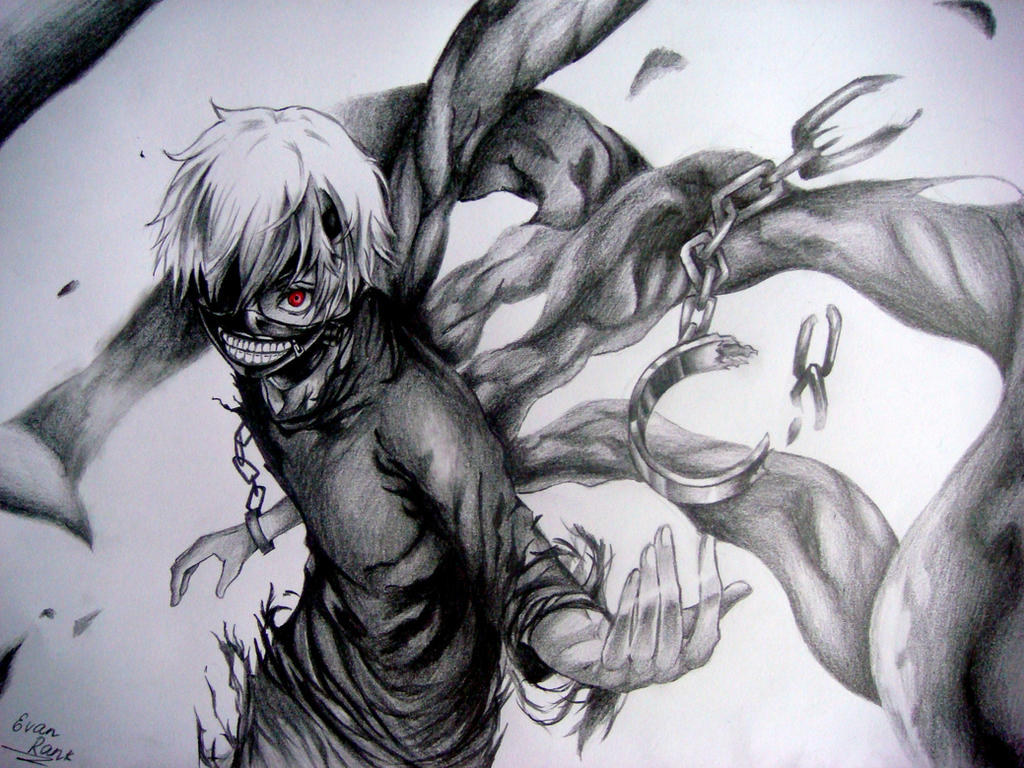 Break the chains/Tokyo Ghoul by EvanRank