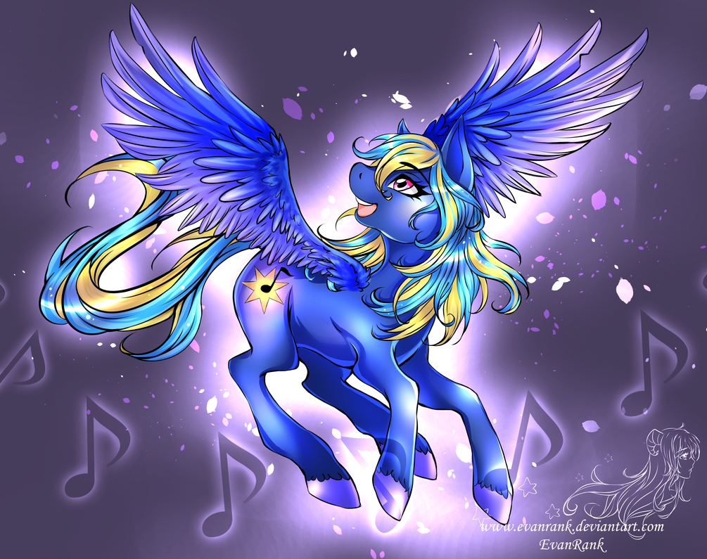 Commission: Evening Song by EvanRank