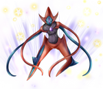 Deoxys Cosmic Power2 by EvanRank