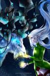 Fanart: World of Warcraft Malorne and Elvenn
