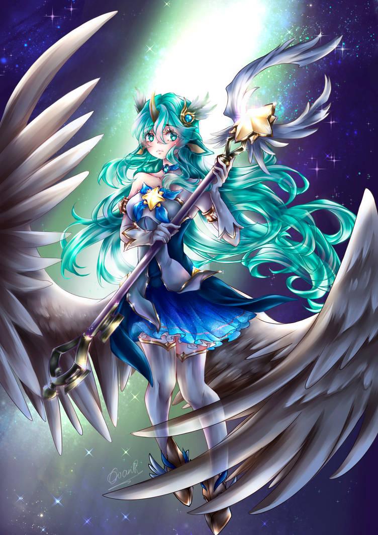 Fanart: Soraka Star Guardian League of Legends