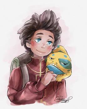 Fanart: Ezran Dragon Prince