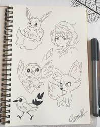 Fanart: Random pokemon sketch