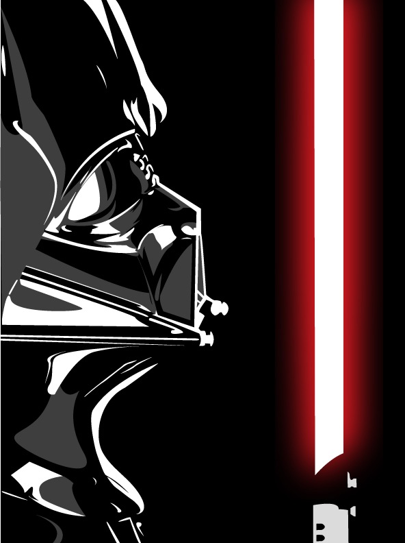 Darth Vader Vector by demonMONKEY93Darth Vader Face Vector