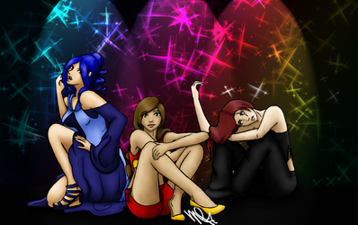 Collab: Beautifully Sitting by Celesta1805