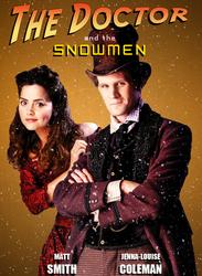 The Doctor n Clara: Xmas Poster