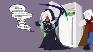 Fear the Reaper who has no Ice Cream -Death Vigil