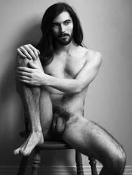 Nude Self Portrait by maarkb