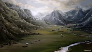 Landscape by YunmiCreation
