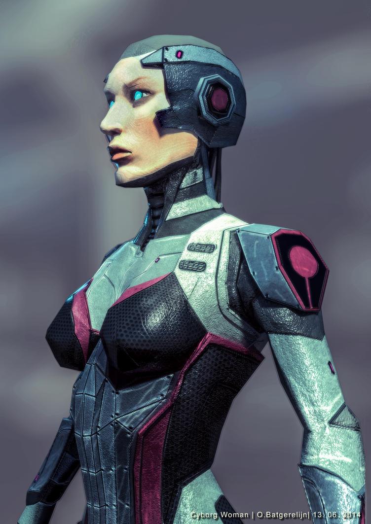 Cyborg woman by YunmiCreation