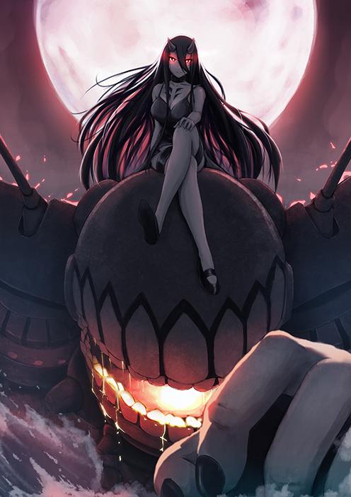 Battleship Princess by necrofantasian