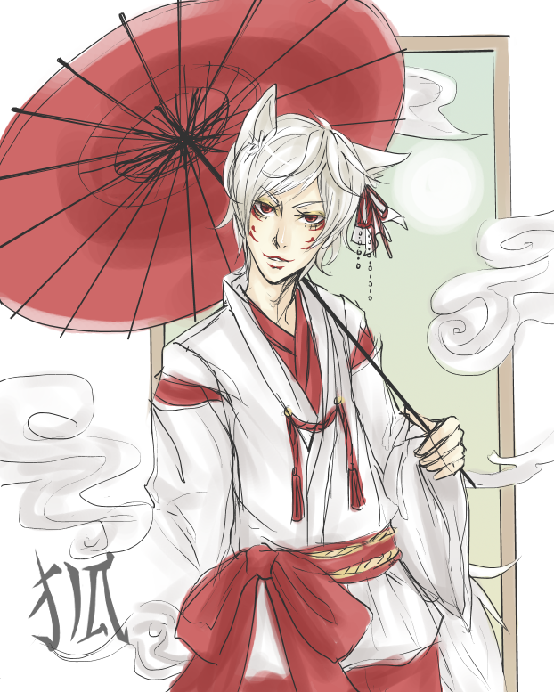 kitsune youkai