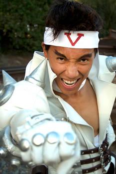Jin Saotome Cosplay, Angry Punch