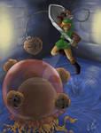Link vs. Arrghus