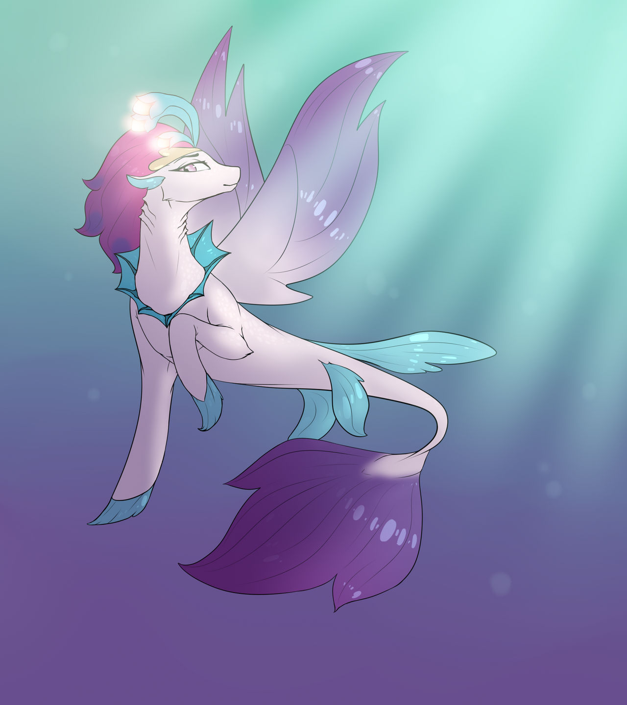 MLP   Queen of the Seas by minsona
