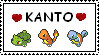 Kanto lover stamp by pikachuafwc