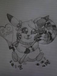 Kandy The Pikachu by pikachuafwc