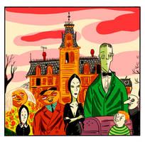 The Addams Family by mr-von-ungarn