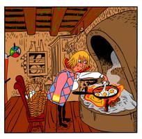 Howl Cooking by mr-von-ungarn