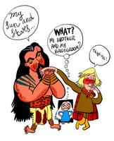 Khal, Daenerys and Viserys by mr-von-ungarn
