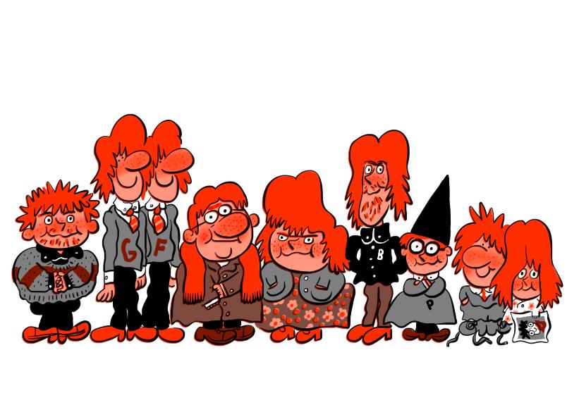 The Weasleys by mr-von-ungarn
