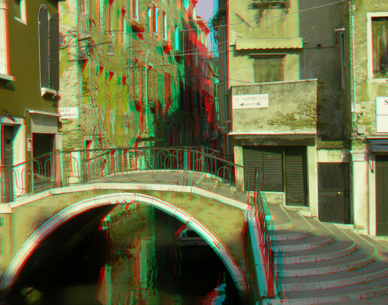 Venice 5 3D Anaglyph by yellowishhaze