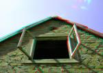 Forgotten Cottage3 3D Anaglyph