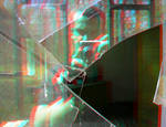 Shattered 3D Anaglyph