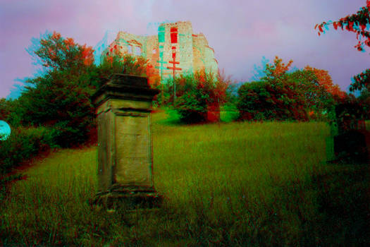 The Ruins 3D Anaglyph