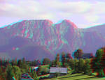 Giewont 2 3D Anaglyph
