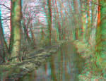 River 3D Anaglyph