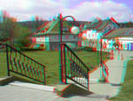 Stairs 3D Anaglyph