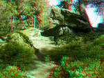 By the Dolmen 3D Anaglyph